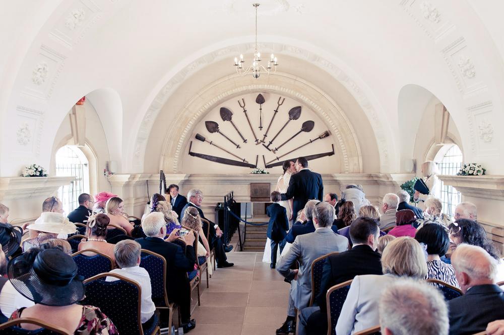 Inside Normanton Church