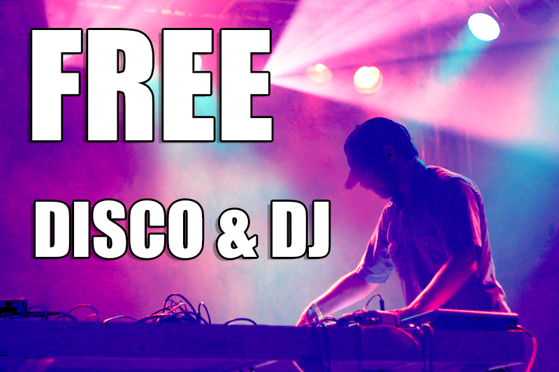 FREE Disco & DJ When Booking the Flange
