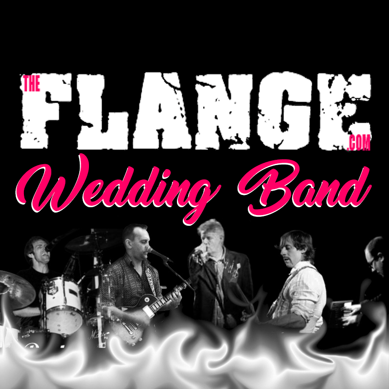 Flange Wedding Band