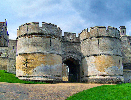 Outside Castle Turrets