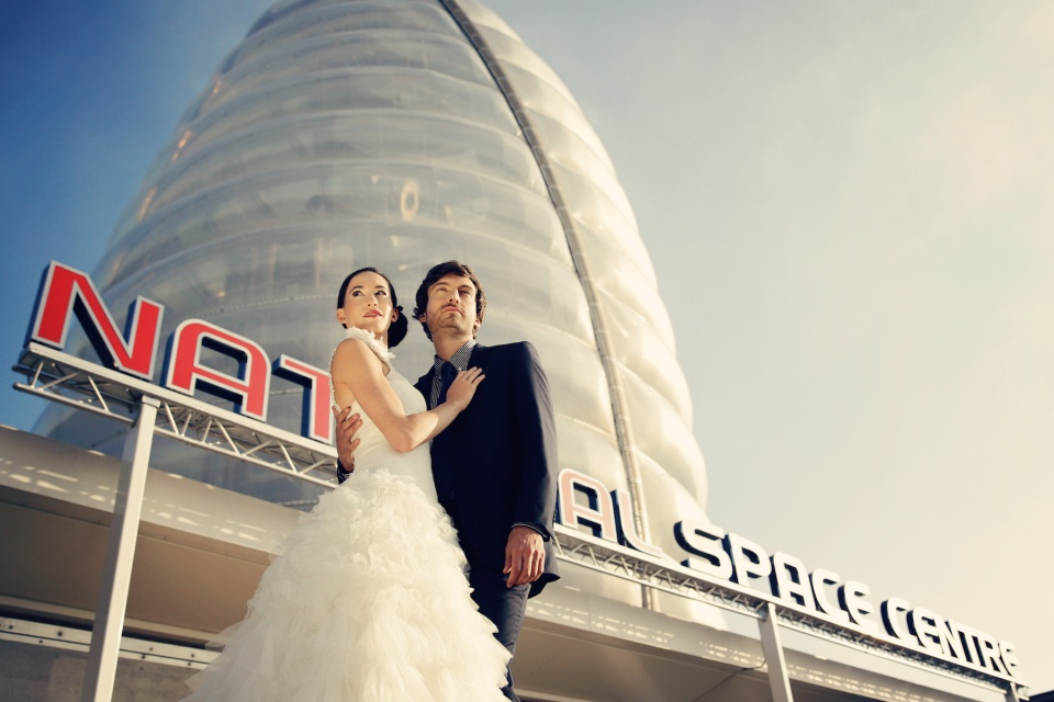 Get Married at the National Space Centre Leicetser