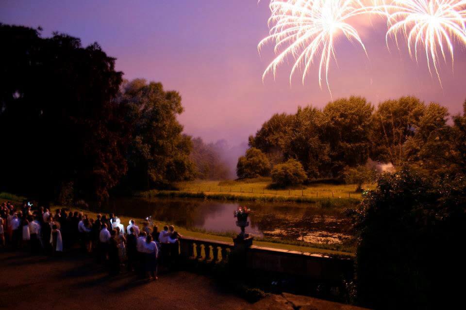 Fireworks at Trumpton Hall