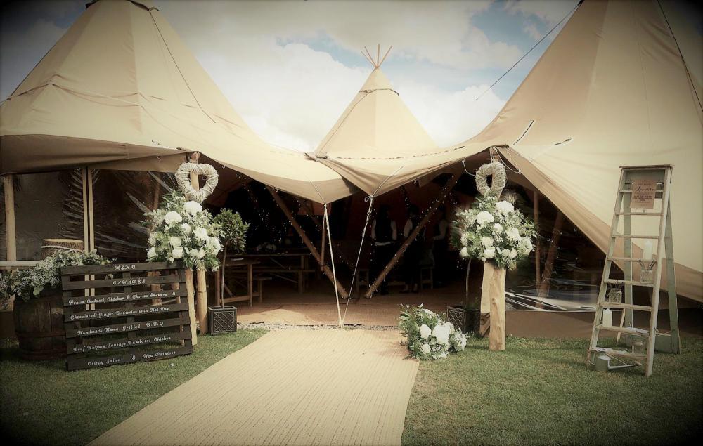 Bridge House Farm Tipi Wedding Venue